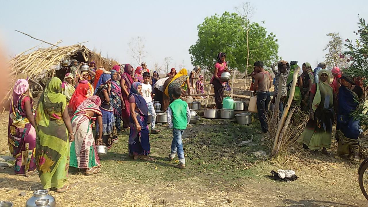 सीहोर जिले के मुहाई में जल संकट