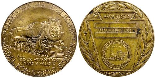 Pennsylvania Railroad Heroic Service Medal