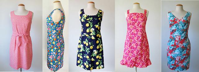 1 yard dresses