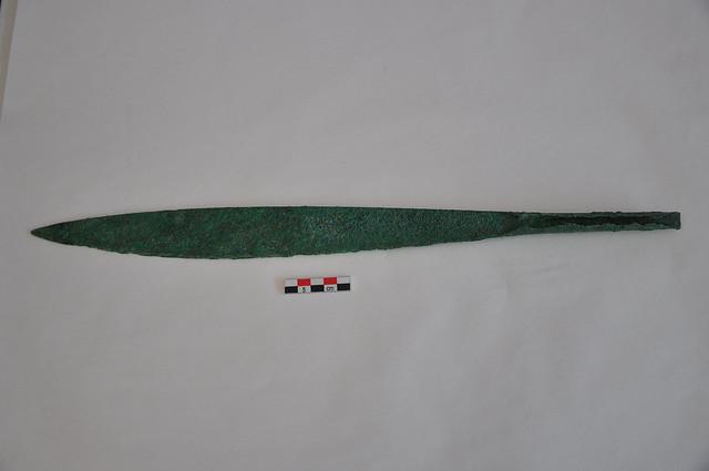 Χάλκινο μονόστομο βραχύ ξίφος, περίπου 1600/1500 π.Χ.