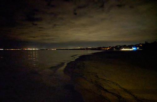 reflection nightclouds seashore sopot poland beach night rest panorama citylights clouds touristy attraction pixelphone mobilephonephotography darkness seawater landscape outdoors