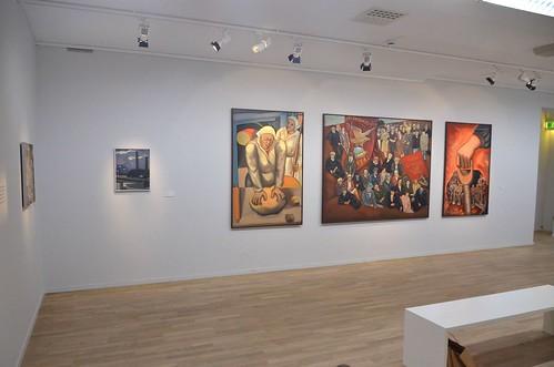 Birgit Ståhl-Nyberg – Triptyken Vägen till frihet och bröd I–III, 1979