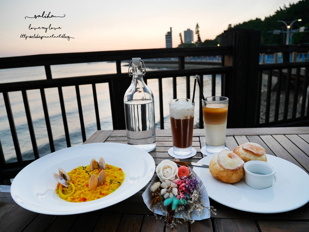 新北淡水老街浪漫氣氛好景觀餐廳推薦la villa danshui情人節 (4)