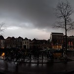 9. Detsember 2018 - 16:16 - Spaarne, across Teylers Museum, Sunday afternoon.