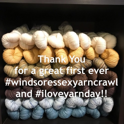A great big thank you for a very successful first ever Windsor-Essex Yarn Crawl!