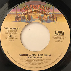PARLIAMENT:AQUA BOOGIE(LABEL SIDE-B)