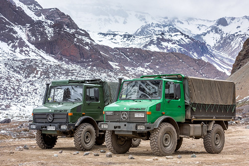 Unimog transporte 4x4 chile