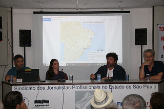 Journalist Alceu Castilho pointed out many incidents are not reported - Créditos: Union of Journalists of São Paulo