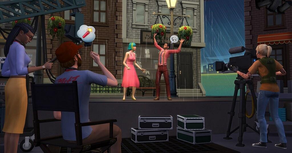 Photo of Blog de Comunidade: Aja Como Uma Celebridade em The Sims 4 Rumo à Fama