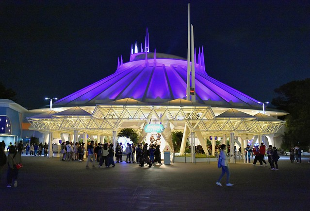 Photo:Space Mountain (Tokyo Disneyland) By jpellgen (@1179_jp)