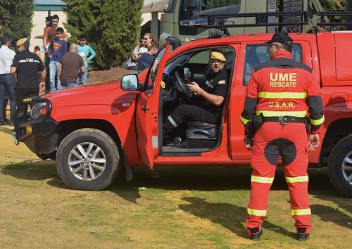 SERVICIO U.S.A.R. K-9 UNIDAD MILITAR DE EMERGENCIAS UME (SPANISH ARMY)