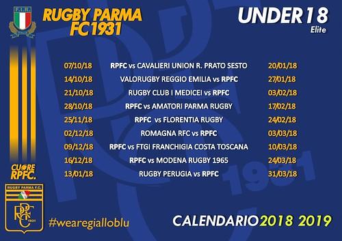 RPFC Calendario U18