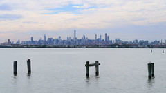 Manhattan seen from Soundview