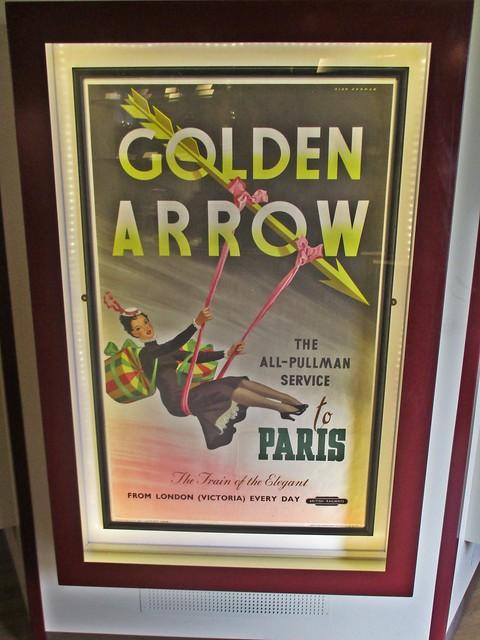 780 The Golden Arrow - The Flèche d'Or