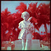 9 ~ Cemetery Cherub - Color Infrared