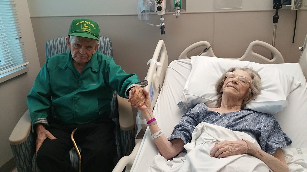 Sweet Love - 73 years of marriage! She's 93 ♡ He's 95!