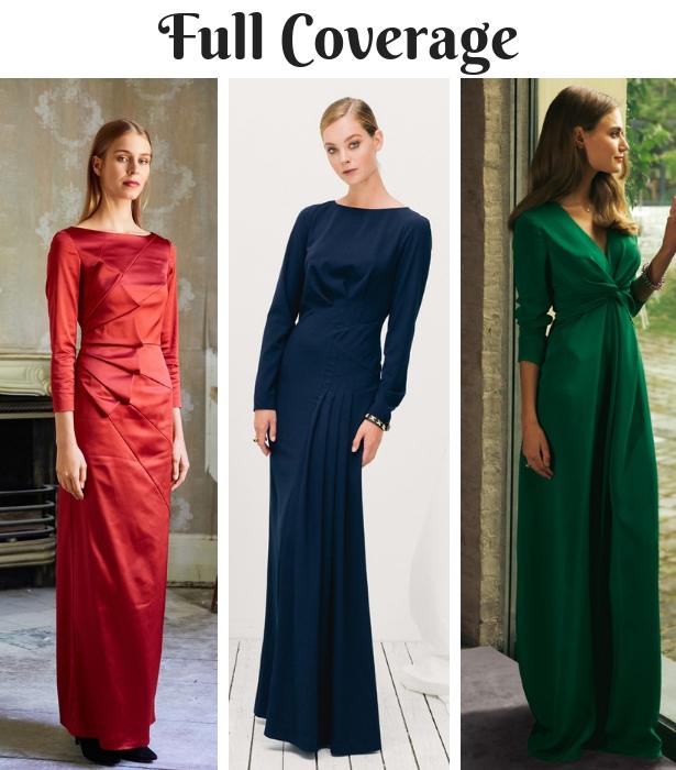 Fall Wedding Wear FULL COVERAGE