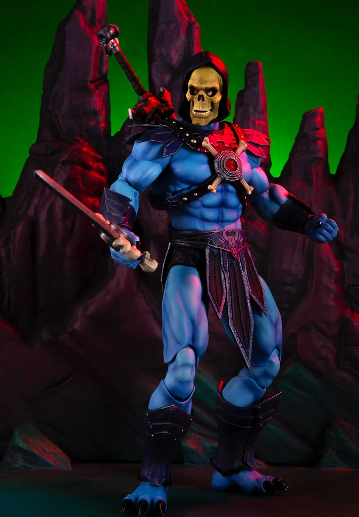 He-Man's Eternal Rival! Skeletor 1/6 Scale Figure Regular & Mondo Exclusive Edition
