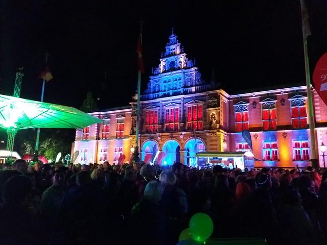 Nacht der Lichter Harburg und Lichterlauf 2018