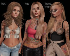 Hair Fair 2018 - twk, Ade, Tableau Vivant