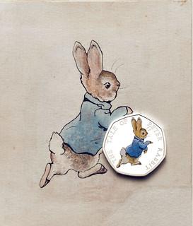 Beatrix Potter 50p series