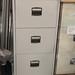 3 door filing cabinet E100