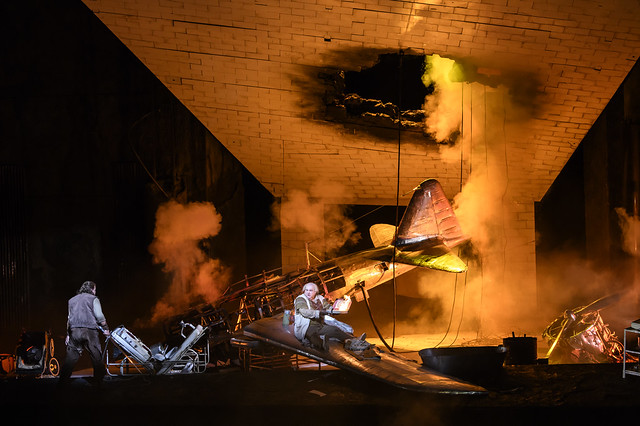 Production photo of Siegfried, The Royal Opera ©2018 ROH. Photograph by Bill Cooper
