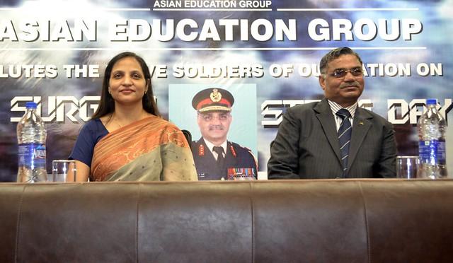 'Parakram Parv' (Surgical Strike Day) Celebration at Asian Business School