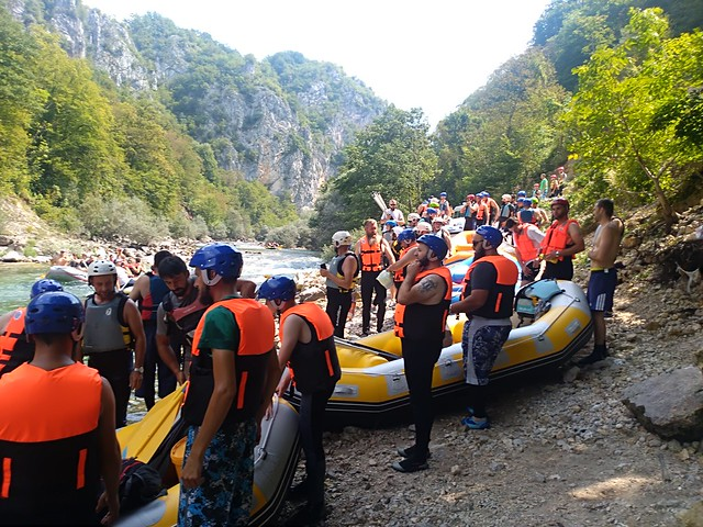 Neretva river is the best for rafting