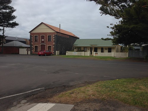Old buildings on Gipps Street, Port Fairy