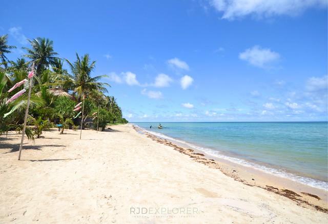 masbate itinerary diy palani beach balud