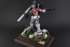 MG RGM-79 GM Ver.2.0 Diorama 【1/100】