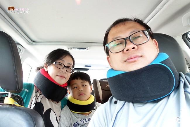 GreySa格蕾莎 全家福旅行頸枕 旅行枕推薦 (31)