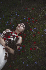 Image by aleah michele (-si-tu-savais-) and image name Snow photo  about My sister as Snow White.