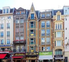 Lille place de la gare - Photo of Abancourt