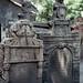 Prague, cimetière juif : pierres tombales