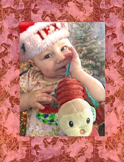 5 Pink baby Christmas