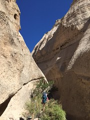 Tent Rocks National Monument: Slot Canyon