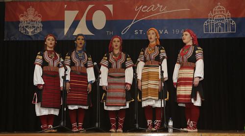 Певачка група при фолклору