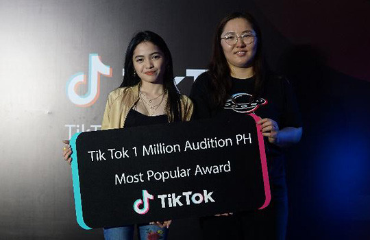 Tik Tok Winners of the 1 Million Audition in the Philippines