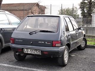 1992 Peugeot 205 D Turbo
