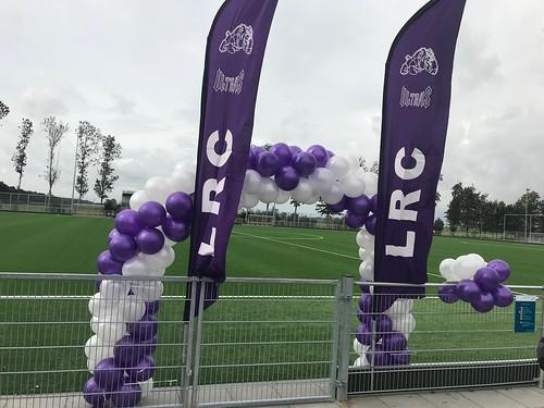 Ballonboog 6m Opening Voetbalveld LRC Leerdam