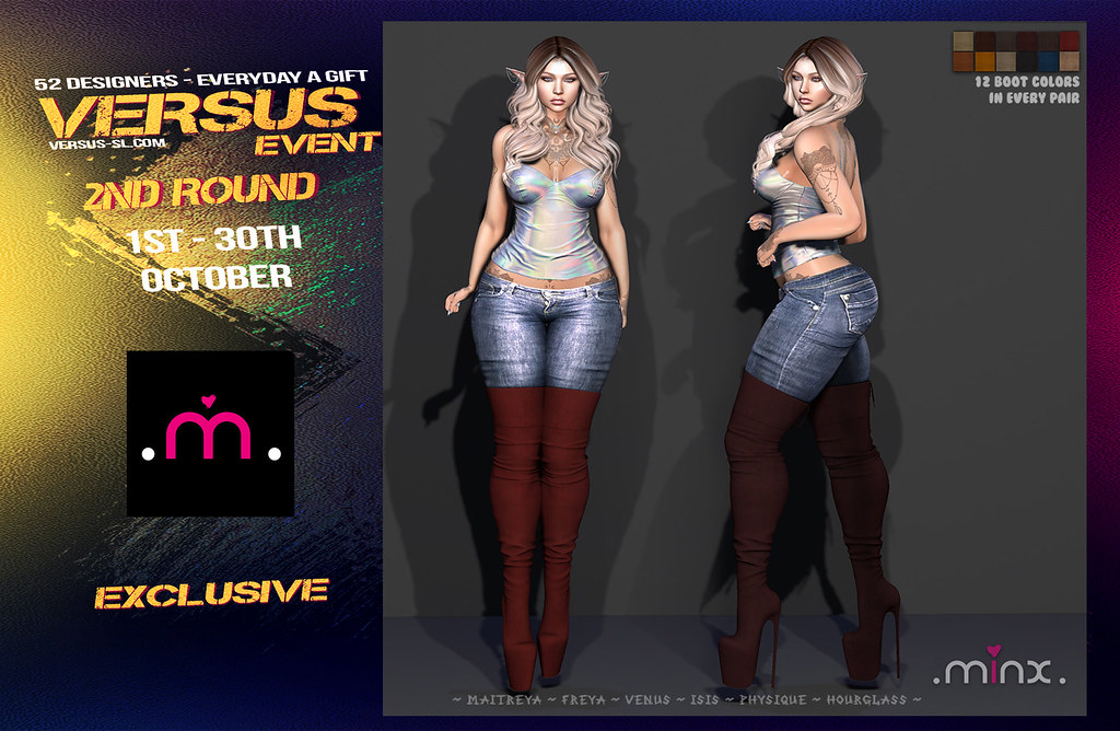 VERSUS EVENT 2ND ROUND MINX Exclusive - TeleportHub.com Live!