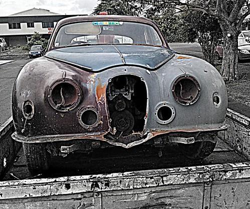 Old car removal | Jaguar