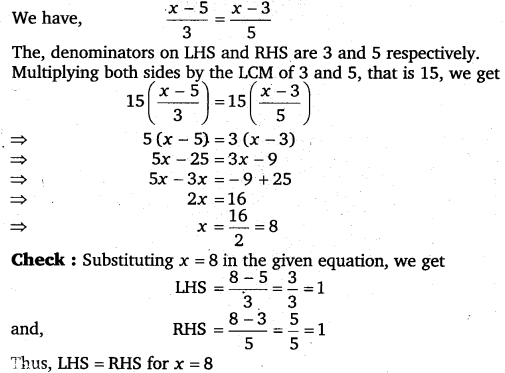 NCERT Solutions for Class 8 Maths Chapter 2 Linear Equations In One Variable 58
