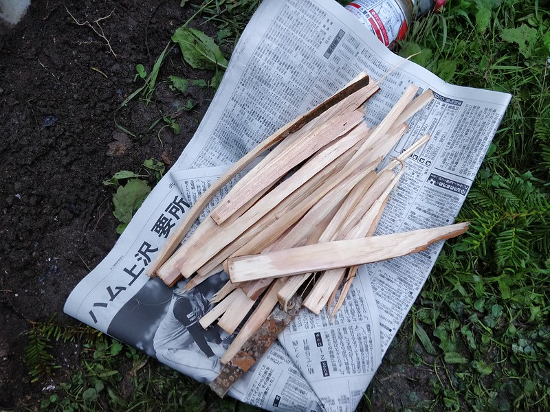 ロケットストーブ手作り (15)