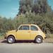 Fiat 500 by Monkeypainter