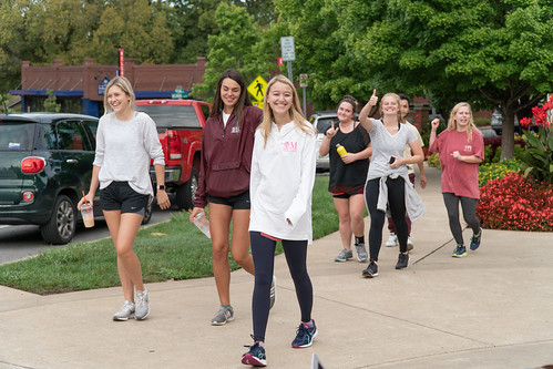 Phi Mu's Lily 5K Event
