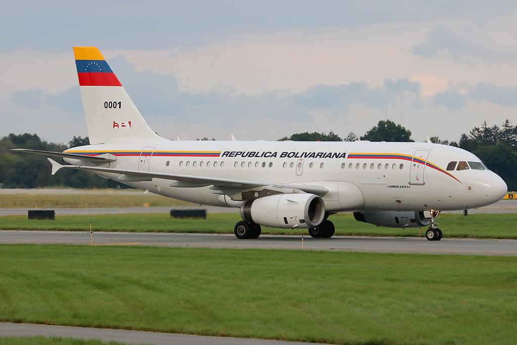 UN Week 2018: FAV0001 | Airbus A319-133(CJ) | Republica Bolivariana (Venezuelan Government)