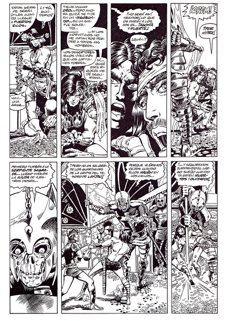 Conan de Roy Thomas y Barry Windsor Smith 03 -03- Tha Hall Of The Dead (Los Guardianes De La Cripta) -03